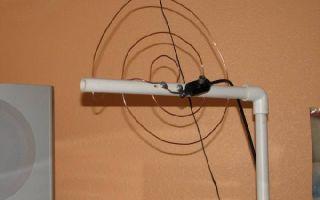 Как своими руками сделать из ТВ-кабеля антенну для приема цифрового вещания?