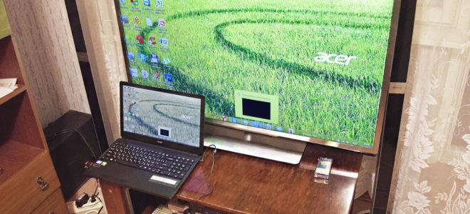 Порядок подключения телевизора к компу и ноутбуку через HDMI. Почему не видит изображение и что делать?